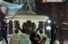 Свесрпски протест поводом ослобађања Харадинаја (видео)