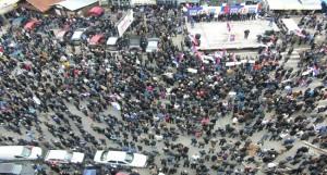 """Протест у северној Митровици: """"Срби најавили нове барикаде"""" (видео)"""
