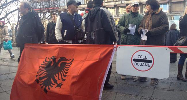 Постављена граница у Кнез Михаиловој улици (видео)