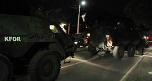 КФОР бруталном акцијом срушио ноћас барикаде код Звечана