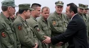 Ратни злочинац Рамуш Харадинај посетио је данас Грачаницу