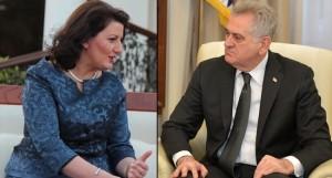 Николић заказаним сусретом са Јахјагом у Бриселу потврдио курс антидржавне политике