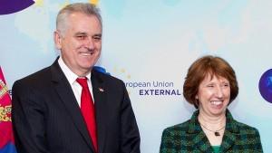 Николић изјавио да Косово попушта, а Приштина и Ештон да тако нешто нису никада поменули