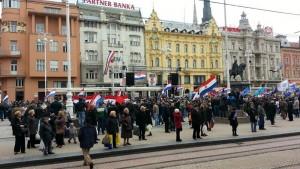 У Загребу протест против ћирилице
