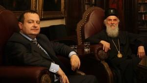 Срби са КиМ прво код патријарха на брифинг