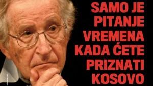 Само је питање времена када ћете признати Косово
