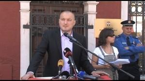 Српска листа, протест испред амбасаде Републике Србије у Подгорици (видео)