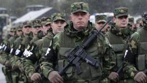 Шиптарска такозвана војска у пуној опреми прошла кроз Митровицу