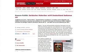 Немачка: Срби, срам вас било!
