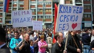 Срби са КиМ одлучно и чврсто стоје уз своје народне прваке!  (видео)