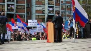 Народ на КиМ је одлучан у својој намери да одбрани уставни поредак Републике Србије