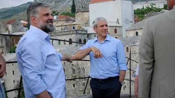 Тадић и Григорије у Мостару