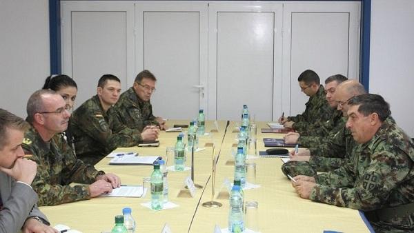 Командант КФОР-а и генерал Диковић деле мишљење око севера КиМ