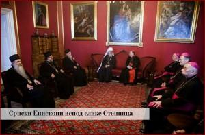 srpski episkopi ispod stepinca