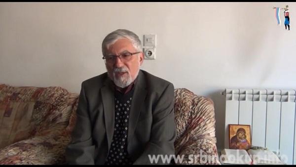 Не шиптарским изборима – Академик Данило Баста (ВИДЕО)