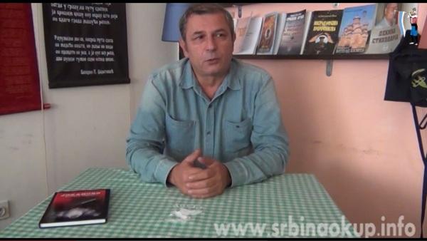 Не шиптарским изборима – књижевник Веселин Џелетовић (ВИДЕО)