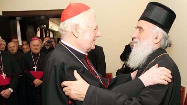 Кардинал Скола: Патријарх Иринеј и председник Николић позвали Папу да посети Србију (ВИДЕО)