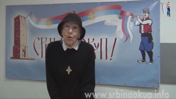 Не шиптарским изборима – Косара Гавриловић (ВИДЕО)