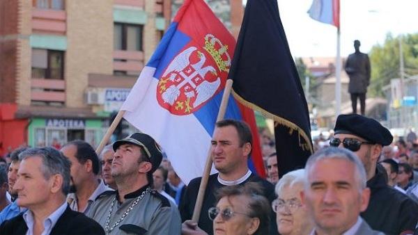 Митинг у Косовској Митровици – НЕ шиптарским изборима (ВИДЕО)