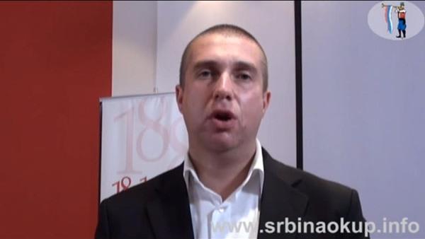 Не шиптарским изборима – Иван Ивановић СНП НАШИ (ВИДЕО)
