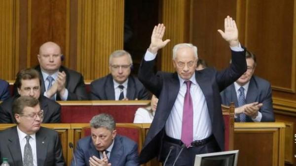 Премијер Украјине дао оставку (пренос уживо)