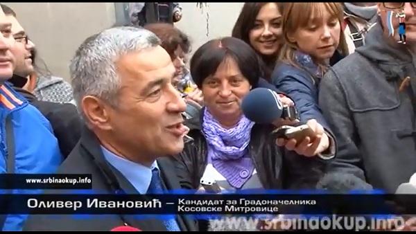 Оливеру Ивановићу одређен једномесечни притвор
