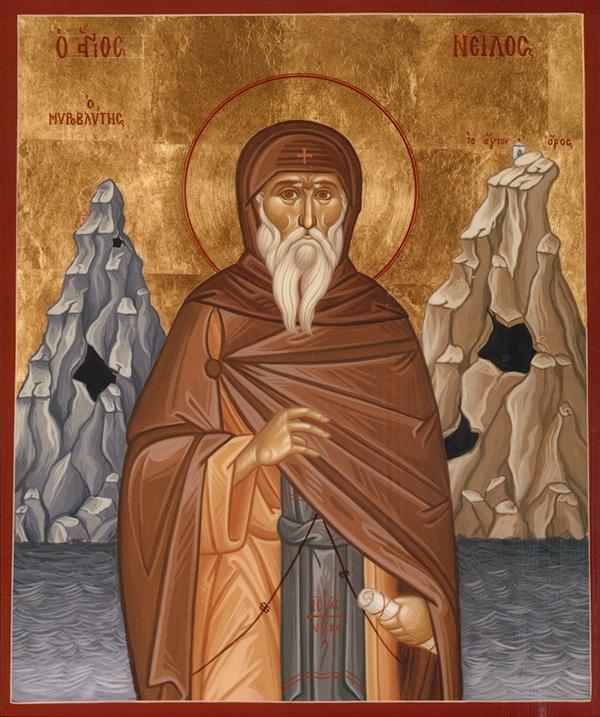 Јављање Св.Нила после смрти и његова пророчанства о крају света и ономе што нас чека