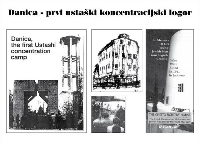 """Свештеници у логору """"Даница"""" код Копривнице"""