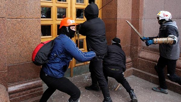Демонстранти заузели кијевско седиште партије Јануковича