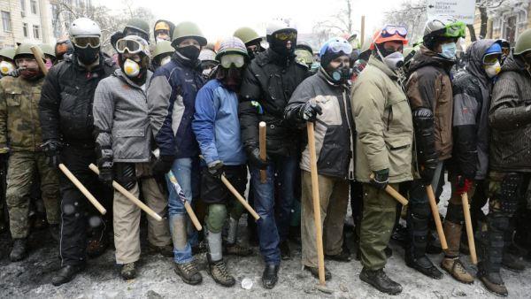 """""""Скупштина демонстраната"""" предлаже нову владу Украјине"""