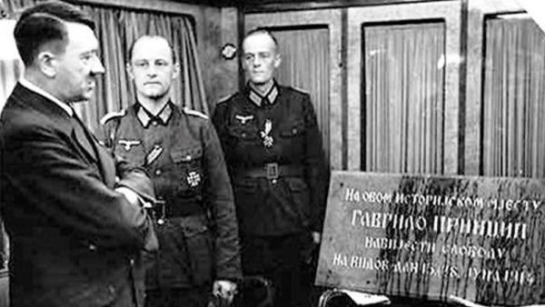 Рат око Великог рата: Принцип је наш, Хитлер није