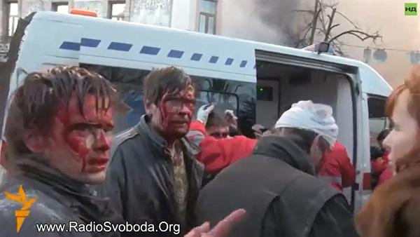 Специјалци на Мајдану у акцији (ВИДЕО)