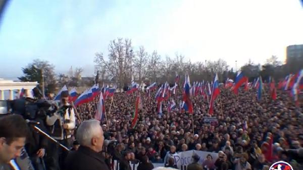 НАРОДНА МОБИЛИЗАЦИЈА: Крим и исток устали против фашизма (Видео)