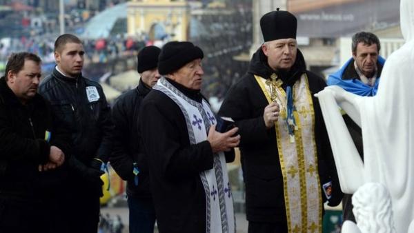 """Унијати у Украјини одувек на страни """"страног елемента"""""""