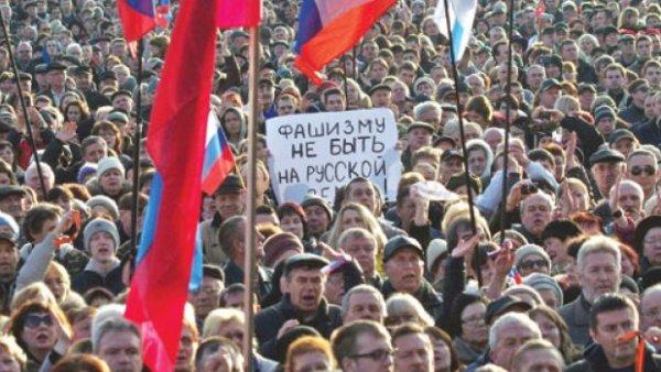 """""""Крим је Русија"""" – тренутно узвикује велики број грађана Крима (УЖИВО ВИДЕО)"""