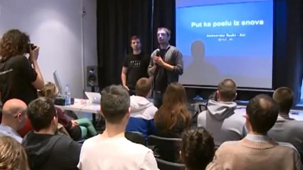 Србин из Гугла одржао предавање: У Београду сам био без посла, у Америци ме сви траже (видео)