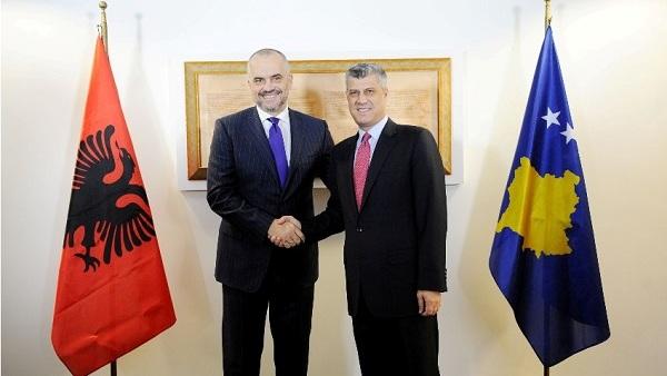 Еди Рама: Што пре Србија формално призна да Косово никад више неће бити њен део, то ће бити боље за