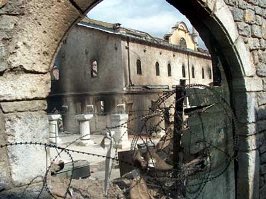 Crkva svetog Djordja je 17. marta u Prizrenu potpuno stradala