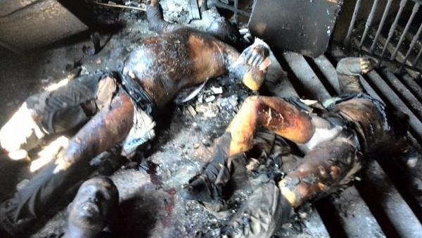 Погледајте како се издешавала трагедија у Одеси! (ВИДЕО)
