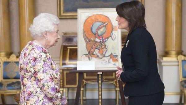 """Јахјагу примила енглеска краљица: Такозвано Косово и Велика Британија су """"ангажоване на спречавању сексуалног насиља и гајењу међуверске толеранције"""" (ВИДЕО)"""