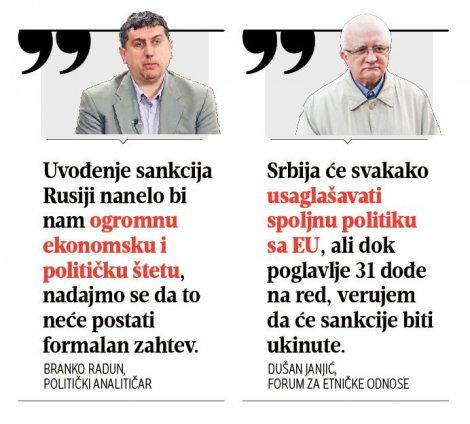 Radun i Janjić sankcije Rusiji