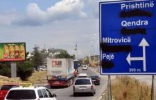 Непоштовање двојезичниости на КиМбаш изражено – Српски и турски језик сувишни на путоказима!