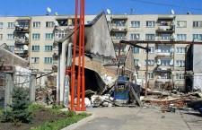Српска болница је уништена у Косовом Пољу 17. марта 2004.г.