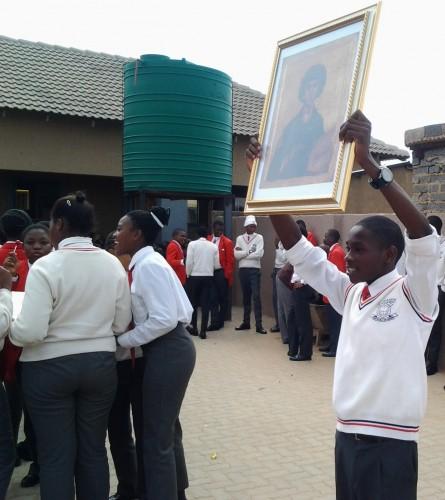 Pravoslavna misija u Africi o.Pantelejmon 2016. 2
