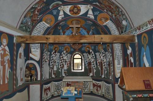Skit Pokrova Presvete Bogorodice Oltar