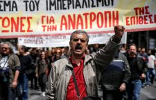 Грчка паралисана генералним штрајком