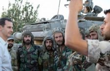 ПАТРИОТА И ЊЕГОВИ БОРЦИ: Предсједник Сирије обишао добровољце на првој линији фронта (видео)