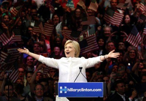 Hilari Klinton u kampanji
