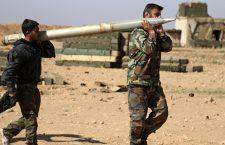 Руске и сиријске снаге ослобођају Раку од ДАЕШ-а