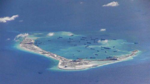 Јужно кинеско море, спорно острво
